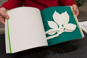 Livre d'artiste de Katsumi Komagata