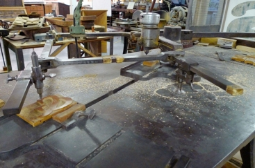 Pantographe au Hamilton Wood Type and Printing Museum