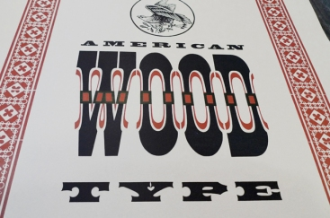 American Wood Type, de Rob Kelly (détail)