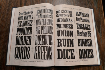 Catalogue de la Toronto Type Foundry Company