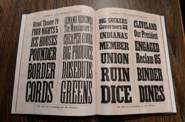 Catalogue de la Toronto Type Foundry Company