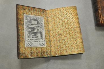 Ex-libris de la bibliothèque St-Sulpice