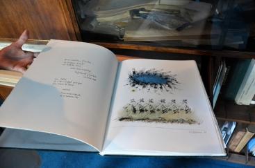 Arbres de Paul-Marie Lapointe avec sérigraphies de Roland Giguère