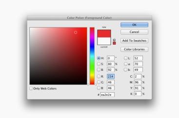 Une couleur se mesure en une multitude de valeurs.
