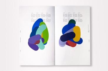 Formes et données générés par le deuxième algorithme (livre Colorimétrie).