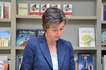 Florence Noyer, éditrice chez Héliotrope et directrice de Gallimard Ltée au Québec