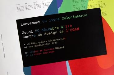 Affiche du lancement