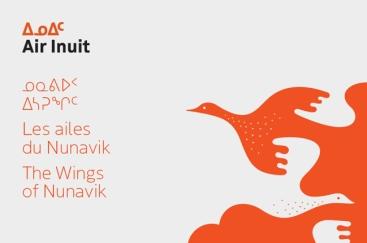 Nouvelle identité visuelle d'Air Inuit créée par Feed (image de Feed)