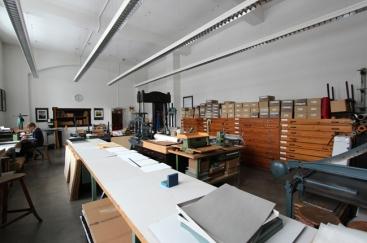 Atelier de reliure de l'Académie de graphisme et de l'art du livre de Leipzig