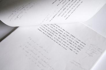 Travail éditorial des textes