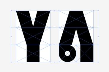 Dessin vectoriel des signes Y et Vi