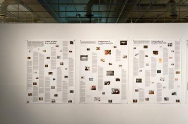 Affiches regroupant par thèmes les articles de La chose imprimée