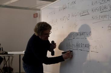 Georges Filotas, professeur d'inuktutut