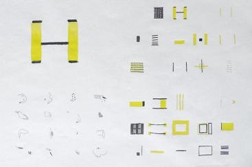 Feuille de presse imprimée en 2 couleurs, en attente du rouge et du bleu